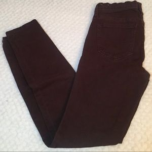Madewell High Riser Skinny straight leg jeans- 24